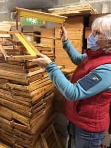 cadres de ruches