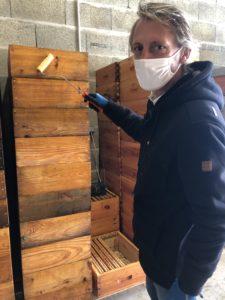 préparation matériel apicole