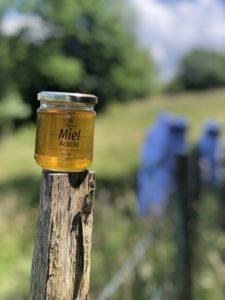 miel acacia du pays basque